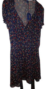 U.S. Polo Assn. short dress Navy Blue Multi Color on Tradesy