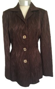 Peggy Jennings Brown Blazer