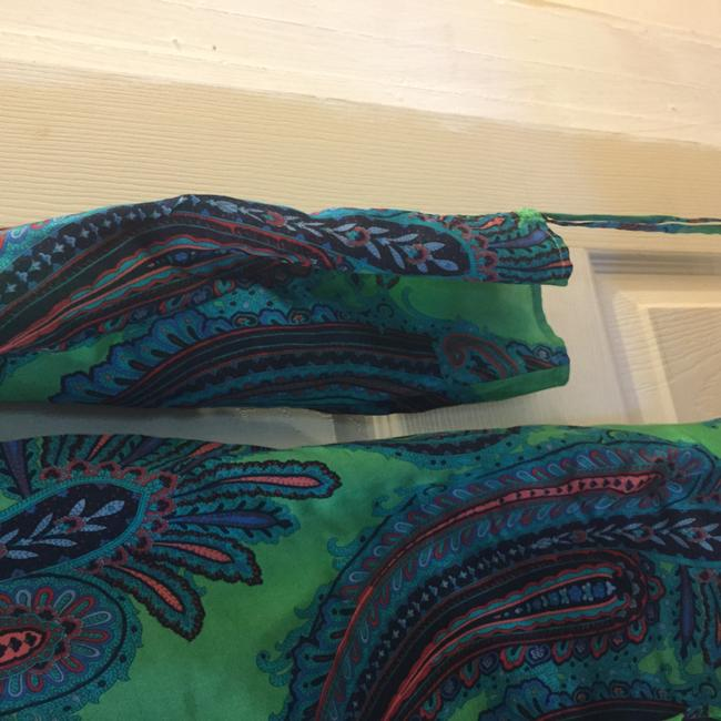 Other Silk Paisley Blue Tunic Image 6