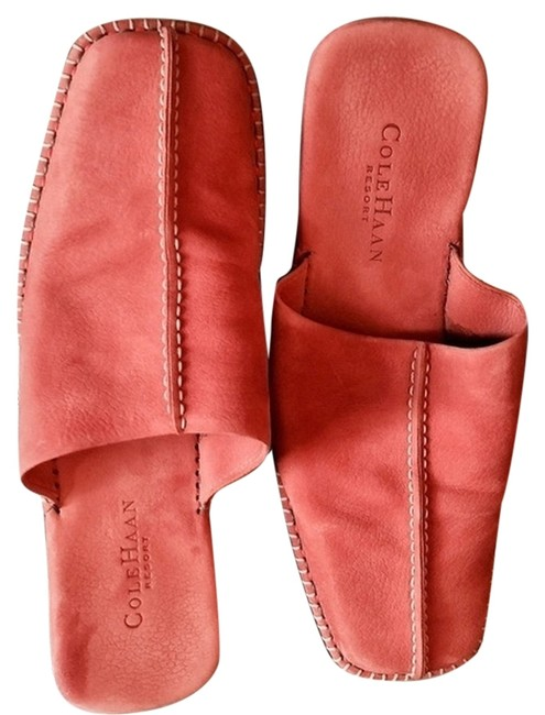 Item - Coral Resort Nubuck Suede Mules/Slides Size US 8.5 Narrow (Aa, N)