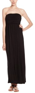 Black Maxi Dress by Active La Maxi Strappless