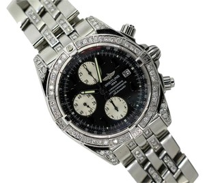 Breitling MEN'S BREITLING CHRONOGRAPHE DIAMOND WATCH