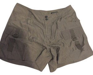 Club Monaco Brown Short Cargo Shorts Taupe