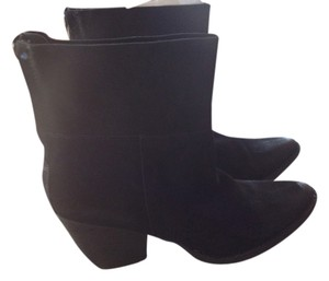 Matisse Black Suede High Quality Versatile Chic Goes With Everything Medium Heel Boots