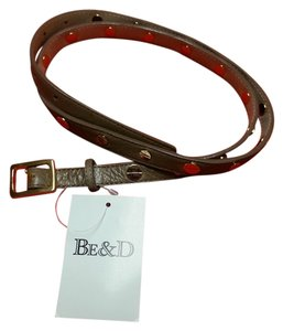 Be&D Skinny Punk Leather Belt