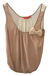 Akira Top Two toned beige