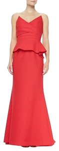BCBGMAXAZRIA Peplum Structured Bcbg Dress