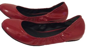 Vera Wang Patent Leather Red Flats