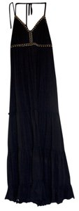 Black/Studded Maxi Dress by Express