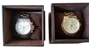 Michael Kors 2 Watches!!! Michael Kors 'Runway' Chronograph Watches