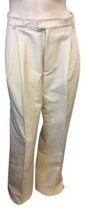 DSquared Wide Leg Pants Off White