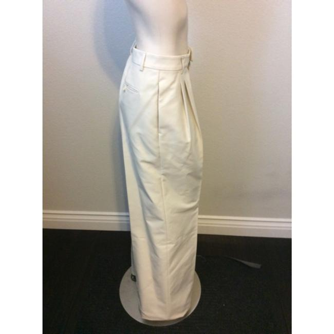 DSquared Wide Leg Pants Off White Image 1