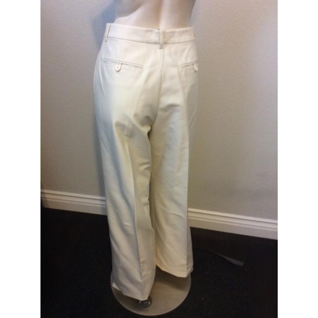 DSquared Wide Leg Pants Off White Image 2
