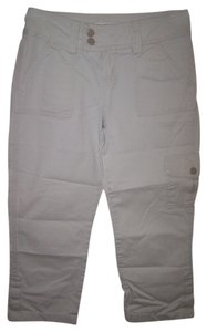 Hydraulic Size 1 - 2 Pockets Capris Tan
