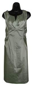 Adrianna Papell Night Out Formal Green Sleeveless Lined Dress
