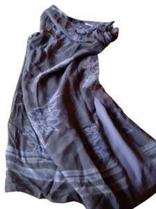 INC International Concepts Skirt Grays/blues/cream