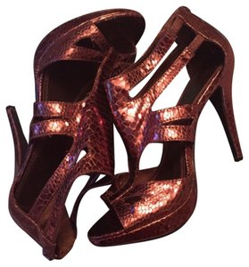 Michael Antonio Bronze Pumps