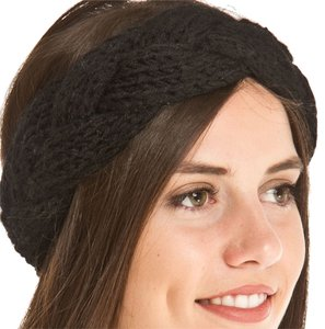 B&B Couture B&B Couture Hand Knit Braided Chunky Headband