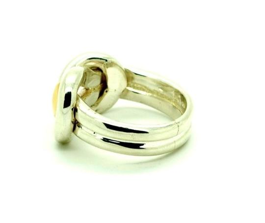 Other Sterling Silver 14K Yellow Gold Ring Two Tone, Size 9.00 Image 2