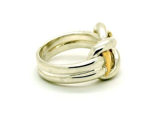 Other Sterling Silver 14K Yellow Gold Ring Two Tone, Size 9.00 Image 3