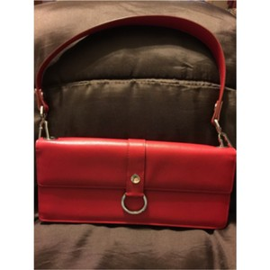 Burberry London Red Clutch