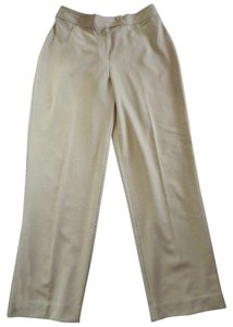 Studio Works Petite Dressy Straight Pants Tan