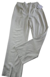 Sag Harbor New With Tags Dressy Slacks Straight Pants cream