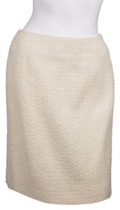 Chanel Skirt Cream