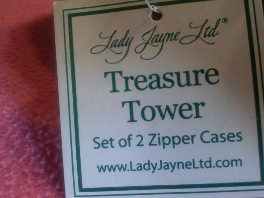 ladyJayneltd Fabulous Treasure Tower 2 set zipper cases