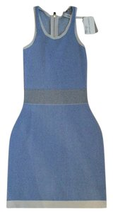 Autumn Cashmere short dress Sapphire/Sand on Tradesy