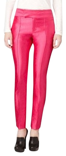 Item - Bright Pink Shiny Slim Fit Dress Pants Size 2 (XS, 26)