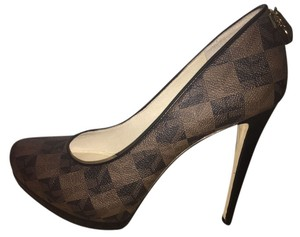 Michael khors brown black and gold Pumps