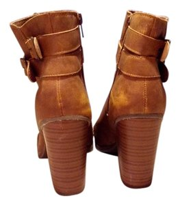 New Directions Cute Causual Night Out Cognac Boots