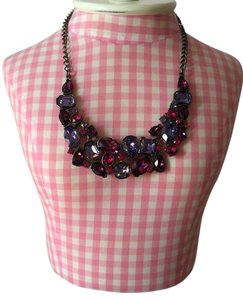 Kenneth Jay Lane Kenneth Jay Lane Multi-Color Gemstone Bib Necklace