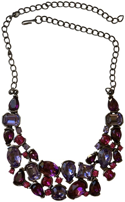Item - Multicolor Gemstone Bib Necklace