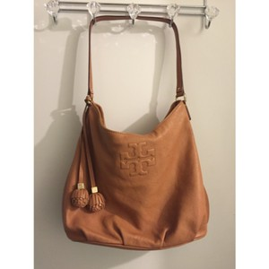 Tory Burch Marion Soft Pebbled Leather Everyday Hobo Bag