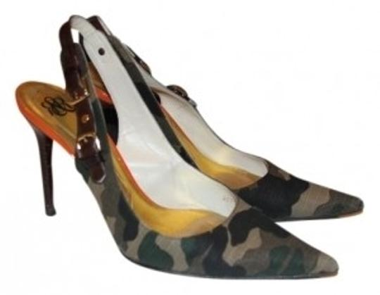Rock & Republic Camo Pumps