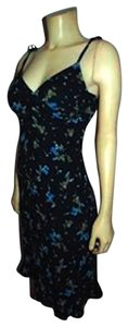 Express short dress NAVY BLUE Size 2 Floral on Tradesy