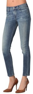 Citizens of Humanity Light Wash Stretch Midrise Skinny Jeans-Light Wash
