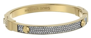 Michael Kors Pave Hinge Bracelet & 'Astor' Stud Earrings