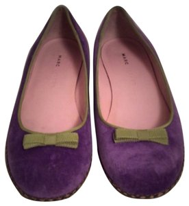 Marc Jacobs Purple Flats