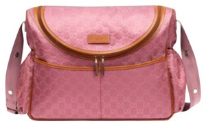 Gucci Girl Pink Diaper Bag