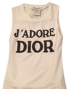 Dior Top White/black