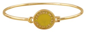 Marc by Marc Jacobs Marc By Marc Jacobs Disc-O Skinny Bracelet in Yellow