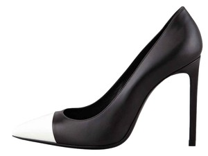 Saint Laurent Black White Pumps