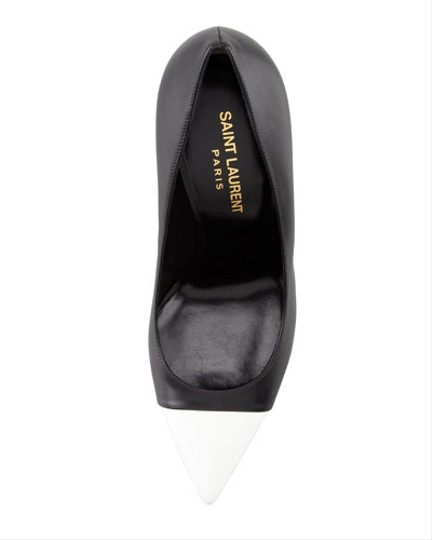 Saint Laurent Black White Pumps Image 3