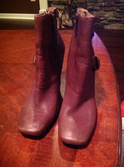 Nine West Leather Brown Boots Image 1