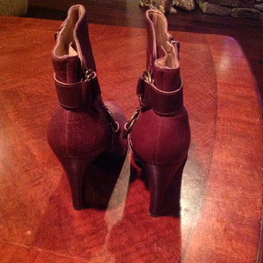 Nine West Leather Brown Boots Image 3
