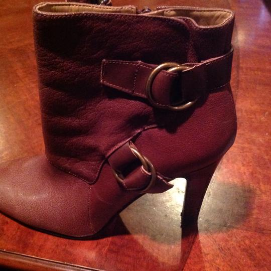 Nine West Leather Brown Boots Image 4
