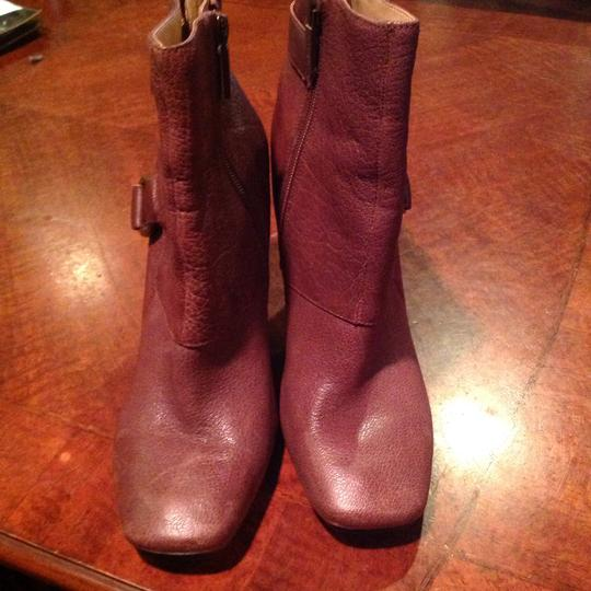 Nine West Leather Brown Boots Image 5